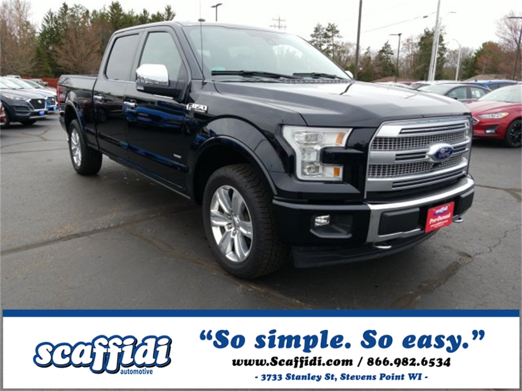 Used 2017 Ford F-150 Platinum 4WD