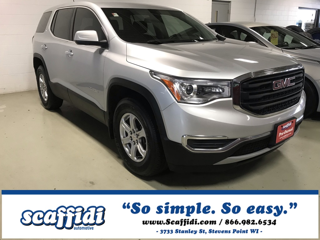 Used 2018 GMC Acadia SLE-1 AWD