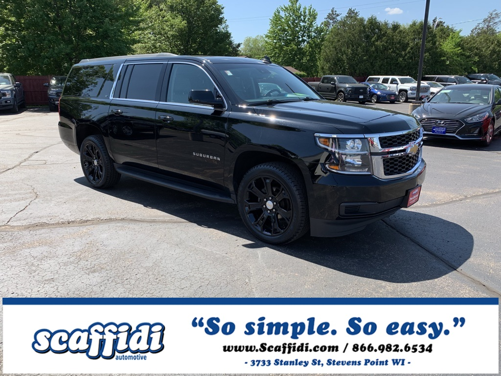 Used 2018 Chevrolet Suburban LT 4WD