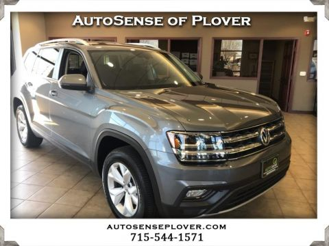 Pre-Owned 2018 Volkswagen Atlas 3.6L V6 SE w/Technology 4MOTION