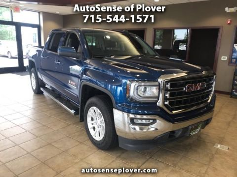 Pre-Owned 2016 GMC Sierra 1500 4WD Crew Cab 143.5 in SLE